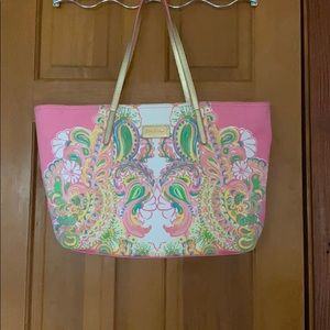 Rare Find | Lilly Pulitzer Tote | 💓💛💚💓